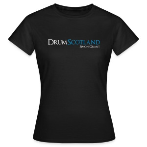 Drum Scotland - Official T-Shirt - Girlz - Women's T-Shirt