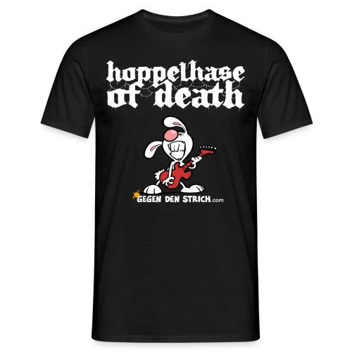 Hoppelhase of Death - Männer T-Shirt