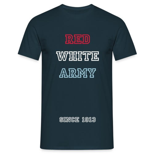 Red White Army shirt - Mannen T-shirt