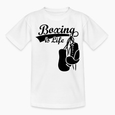 Boxing is Life. Boxing Gloves boxer  Shirts
