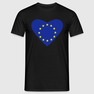 Black Love Europe Men's Tees - Men's T-Shirt
