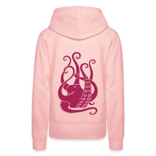 tier t-shirt oktopus krake tintenfisch tauchen taucher meer octopus scuba - Frauen Premium Hoodie