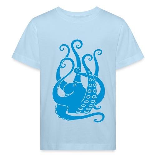 tier t-shirt oktopus krake tintenfisch tauchen taucher meer octopus scuba - Kinder Bio-T-Shirt