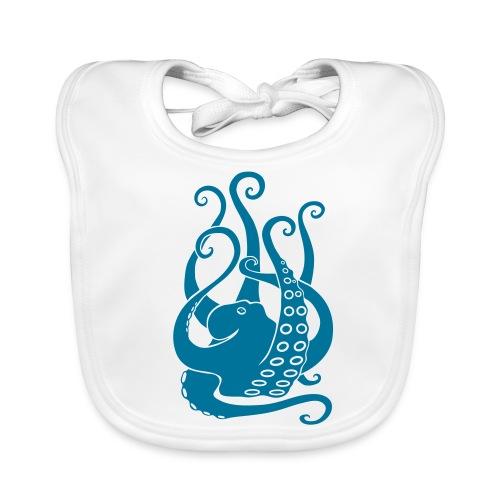 tier t-shirt oktopus krake tintenfisch tauchen taucher meer octopus scuba - Baby Bio-Lätzchen