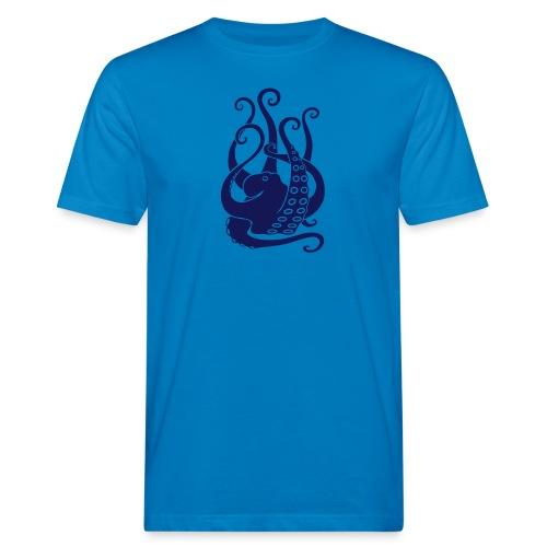 tier t-shirt oktopus krake tintenfisch tauchen taucher meer octopus scuba - Männer Bio-T-Shirt