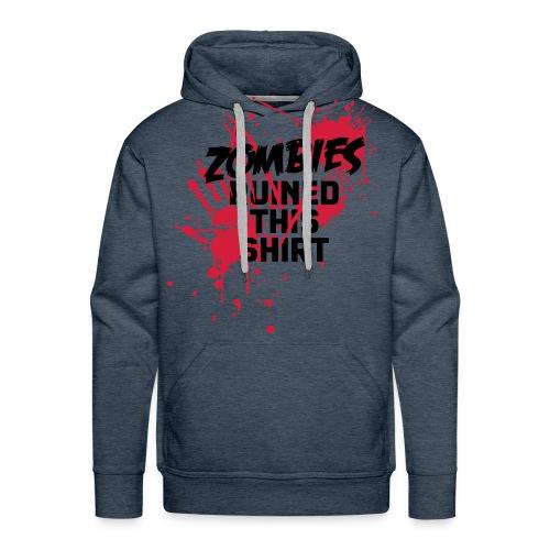 Felpa Uomo Zombies - Felpa con cappuccio premium da uomo