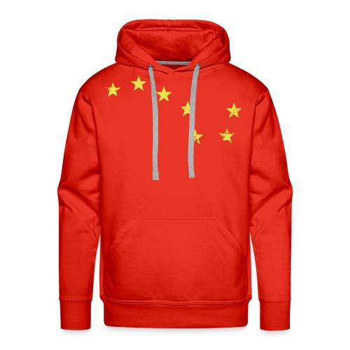 starry_plough_grunge - Men's Premium Hoodie
