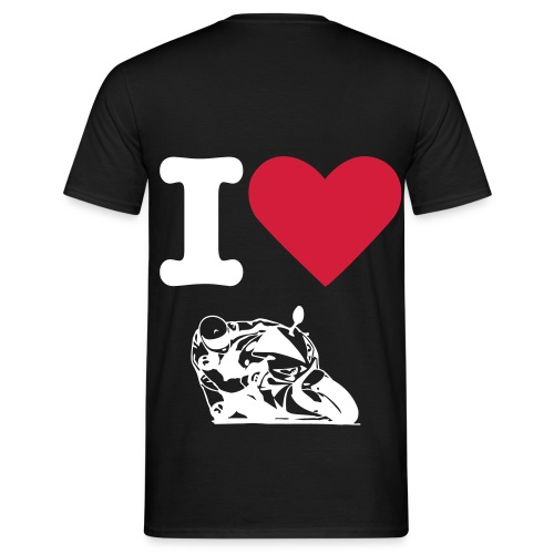 I LOVE KNEEDOWN - Männer T-Shirt