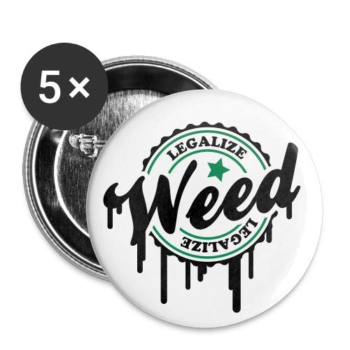 CannaPin's - Badge moyen 32 mm