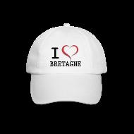 Casquettes et bonnets ~ Casquette classique ~ Casquette i love bretagne