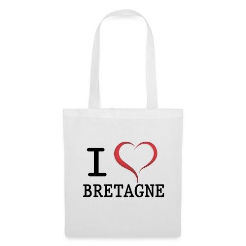 Sac en tissu i love bretagne - Tote Bag