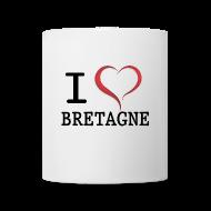 Bouteilles et Tasses ~ Tasse ~ Tasse Mug i love Bretagne