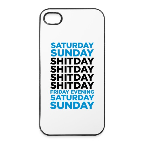 Glory days_Iphone4 - iPhone 4/4s hard case