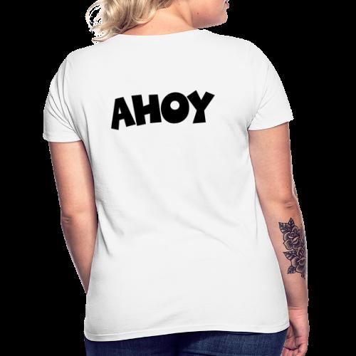 AHOY T-Shirt (Rücken) - Frauen T-Shirt