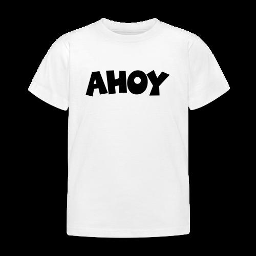 AHOY Kinder T-Shirt - Kinder T-Shirt