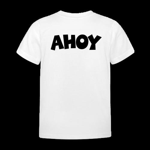 AHOY Kinder T-Shirt (Rücken) - Kinder T-Shirt