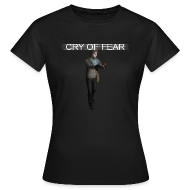 T-Shirts ~ Women's T-Shirt ~ Cry of Fear T-shirt v3 (Woman)