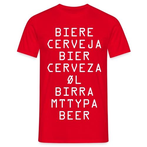 Biere - Men's T-Shirt