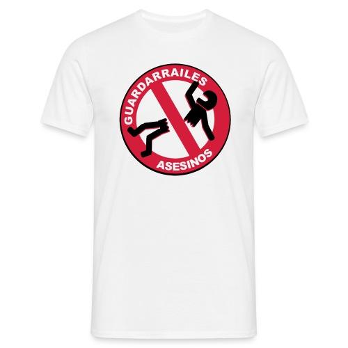 GUARDARRAILES TRAZADO+CALIDAD - Camiseta hombre