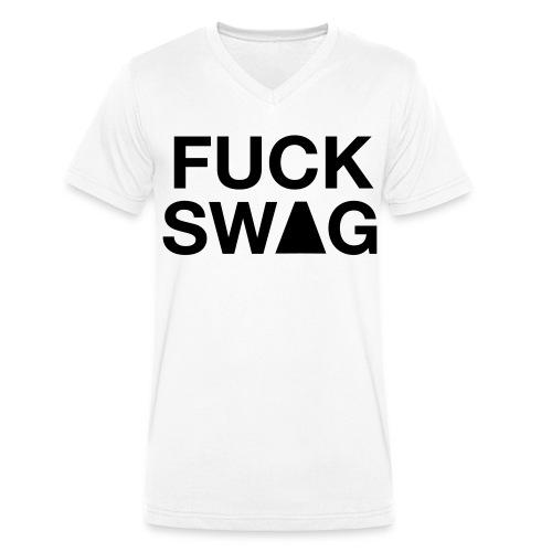 SWAG-T-Shirt - Männer Bio-T-Shirt mit V-Ausschnitt von Stanley & Stella