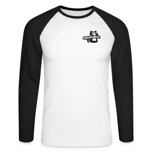 easynomie officiel - T-shirt baseball manches longues Homme