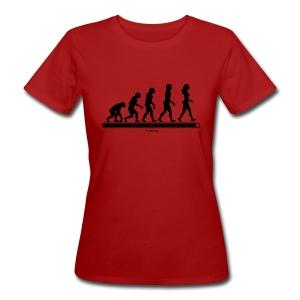 T-shirt bio Femme - anti-sexism,anti-sexisme,anti-sexist,anti-sexiste,cause des femmes,droits des femmes,evolution,feminism,feminist,femme,femmes,féminisme,féministe,girl power,sexism,sexisme,sexist,sexiste,stop sexism,woman,woman power,women,women power,women's rights,évolution