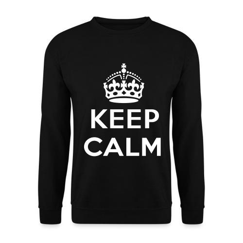 Keep Calm Pullover - Männer Pullover
