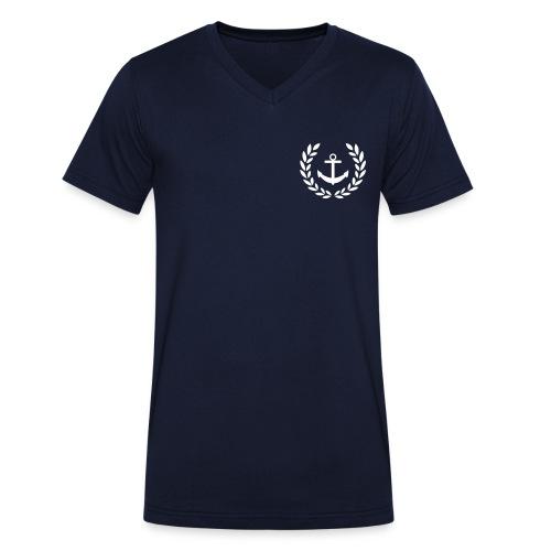 Nauta - Sannäs - Ekologisk T-shirt med V-ringning herr från Stanley & Stella