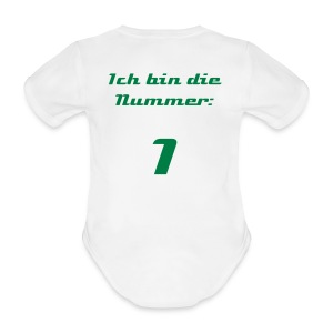 95ers Baby Dress - Baby Bio-Kurzarm-Body
