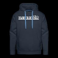 Sweatshirts ~ Herre Premium hættetrøje ~ Namunël hoodie, marineblå