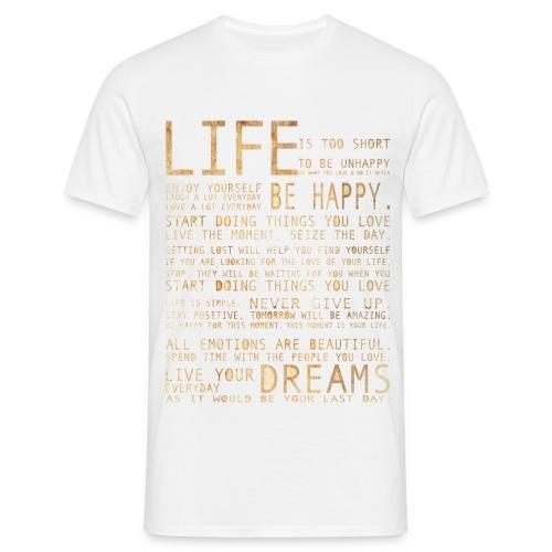 L I F E - Männer T-Shirt