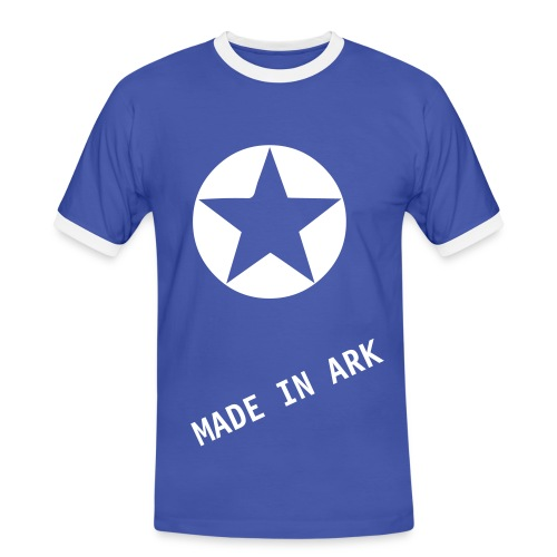 made in ark - T-shirt contrasté Homme