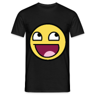 Awesome Smiley Emoticon Meme Boy T-Shirt