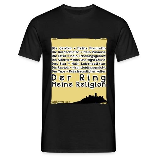 Shirt - RaR-Religion (Schrift) - Männer T-Shirt