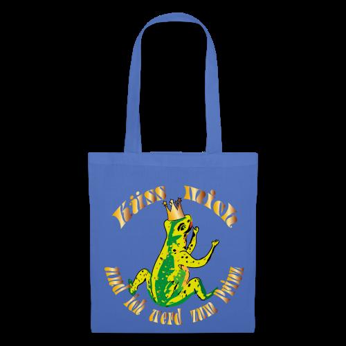 Froschkoenig Tasche - Stoffbeutel