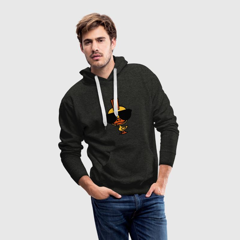 Canard Punk Sweat-shirts - Sweat-shirt à capuche Premium pour hommes