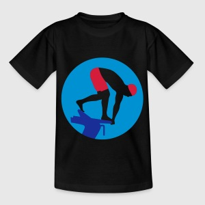 swimming_man_022013_a_3c T-Shirts - Teenager T-Shirt