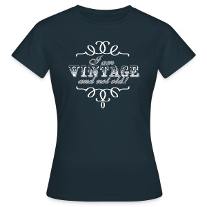Vintage White T-Shirts - Frauen T-Shirt