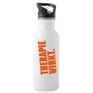 Physiotherapie Therapie wirkt Trinkflasche - Trinkflasche