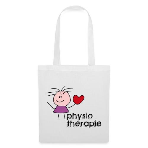 Ein Herz für Physiotherapie Stofftasche - Stoffbeutel