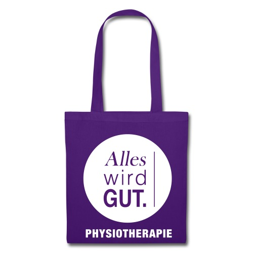 Physiotherapie Alles wird Gut Stofftasche - Stoffbeutel