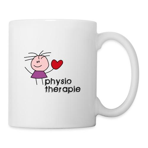 Ein Herz für Physiotherapie Kaffee Tasse - Tasse