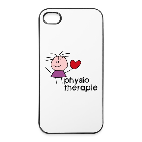 Ein Herz für Physiotherapie iPhone Hülle Schutz - iPhone 4/4s Hard Case