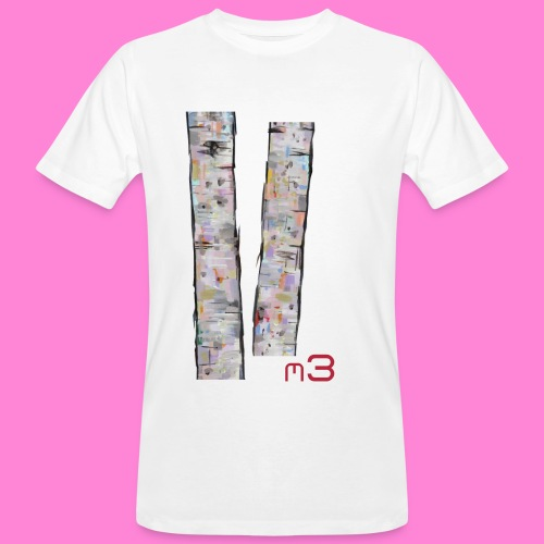 Tree M3 shirt - Mannen Bio-T-shirt