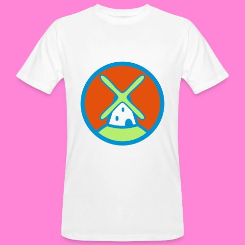 Molenpunt shirt - Mannen Bio-T-shirt