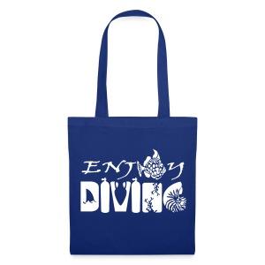 Enjoy Diving-Sac tissu-Imp Flocage - Tote Bag