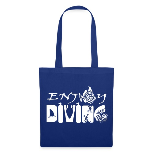 Enjoy Diving-Sac tissu-Imp Flocage - Tote Bag