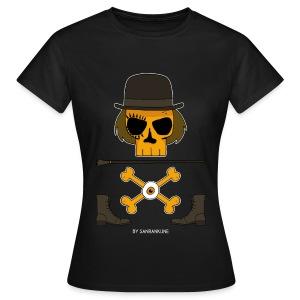 T-shirt Femme Orange Mecanique - T-shirt Femme