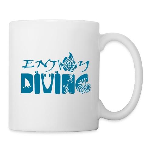 Enjoy Diving-Mug - Mug blanc