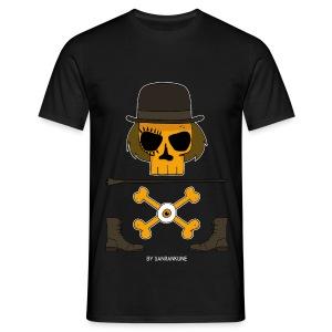 T-shirt Homme Orange Mecanique - T-shirt Homme